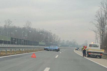 TEŠKO POVRIJEĐEN Prijedorčanin na auto-putu izgubio kontrolu nad vozilom