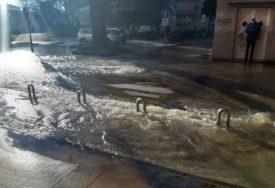 Poplava u centru Banjaluke, dio grada bez vode