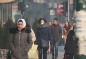 VELIKO ZAGAĐENJE Vazduh u Sarajevu, Ilijašu i Visokom okarakterisan kao OPASAN