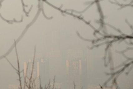SARAJEVO OPET ZAGAĐENO Smanjiti boravak i kretanje na otvorenom u gradskoj zoni