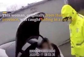 Pokušala da pređe PREKO PRAVILA: Željela da izbjegne karantin, pa se sakrila U GEPEK (VIDEO)
