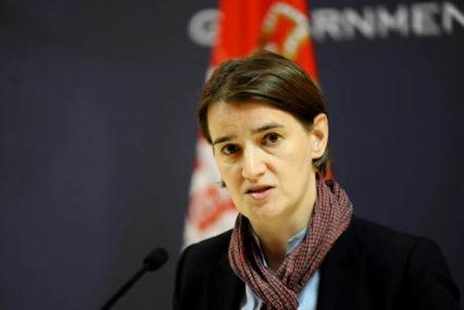 """""""TENZIJOM PRAVDAJU LOŠU EKONOMIJU"""" Brnabić kaže da je situacija u regionu kompleksna"""