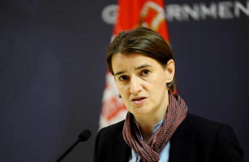 NASTAVAK DIJALOGA POSLIJE IZBORA Brnabić istakla da će pregovori sa Prištinom morati čekati