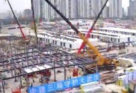 NAIŠLI NA BROJNE KRITIKE Druga bolnica u Kini izgrađena u REKORDNOM ROKU (VIDEO, FOTO)