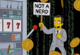 ZVIJEZDA SERIJE ŠTREBERI Džim Parsons debitovao u Simpsonovima