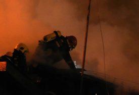 BUKTINJA U ZAGREBU Jedna osoba povrijeđena u eksploziji