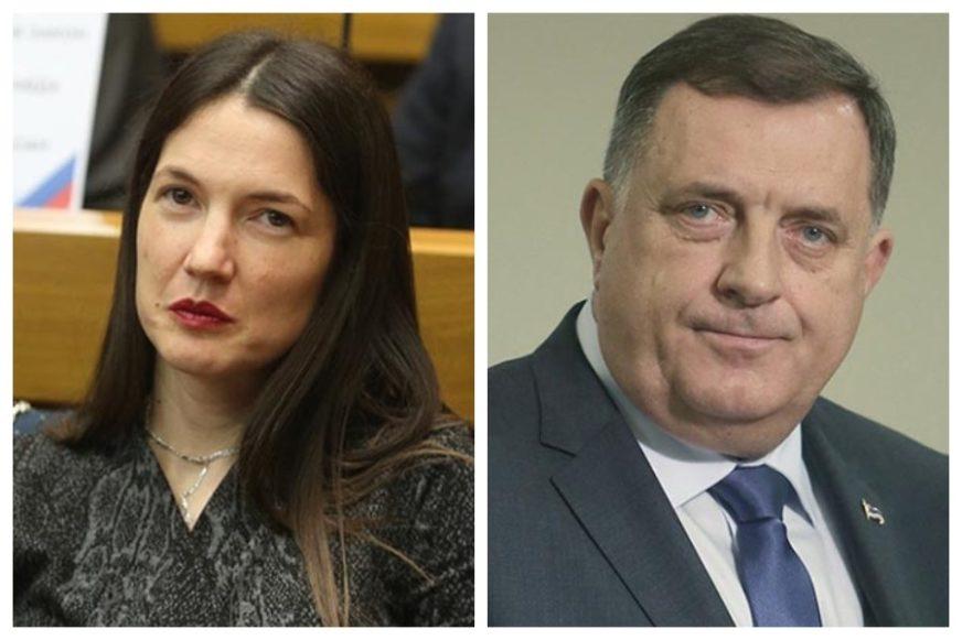 """""""POMIJEŠALI STE JEDINSTVO I JEDNOUMLJE"""" Žestoka diskusija Dodika i Trivićeve, reagovao Čubrilović"""