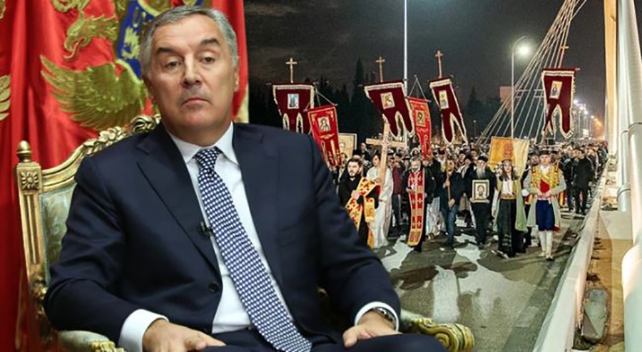 """NE PRIHVATAMO IDEJU POSRBLJAVANJA CRNE GORE! Đukanović: """"Crnoj Gori je potrebna sopstvena pravoslavna crkva"""""""