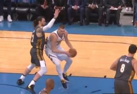 NBA RINGIŠPIL NIKOLE JOKIĆA Izluđivao igrače Oklahome, a ovo se Denveru desilo PRVI PUT (VIDEO)