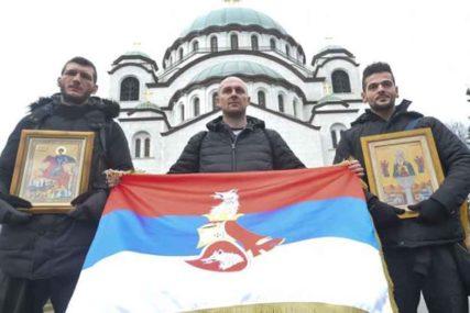 PODVIG HVALE VRIJEDAN Dva Crnogorca i dva Srbina pješačiće 12 dana za PODRŠKU SVETINJAMA