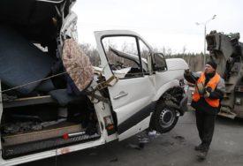 TRAGEDIJA U RUSIJI Minibus se sudario sa kamionom, poginulo osam Ukrajinaca