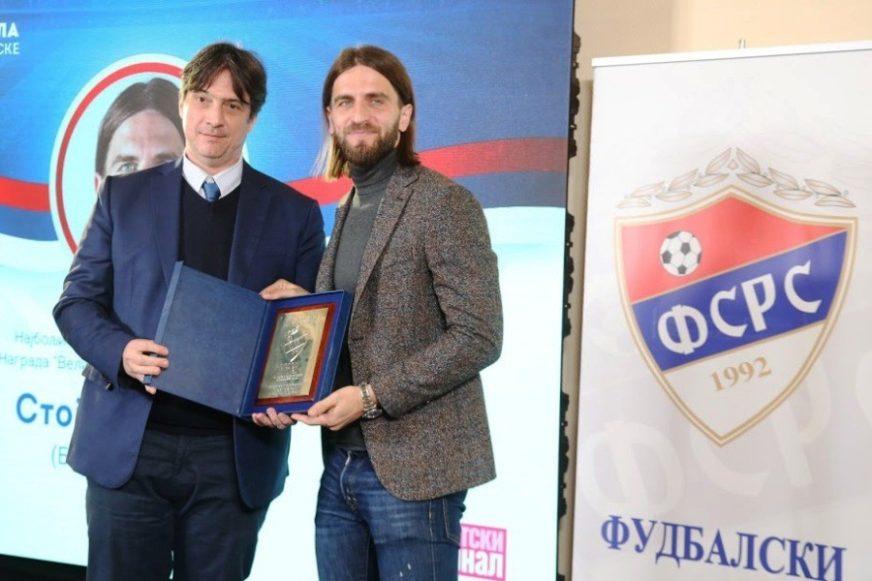 PRIZNANJE ZA IGRAČA BORCA Stojan Vranješ najbolji igrač Srpske (FOTO)