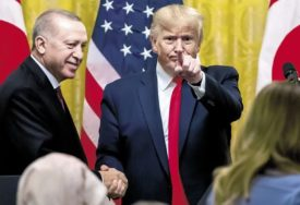 """HITAN PREKID SUKOBA"" Erdogan i Tramp razgovarali o Siriji"