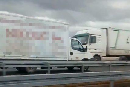 KASNO SHVATIO GREŠKU Saznajte kako se vozač kamiona našao u suprotnom smjeru na auto-putu