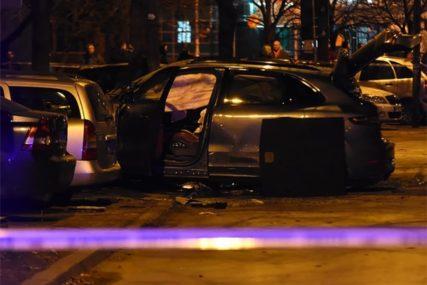DŽIP DIGNUT U VAZDUH Eksplozija u Novom Sadu, u vozilu bio Slobodan Milutinović Snajper