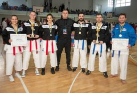 Sarajlije najbolje na prvenstvu BiH, karatistima iz Gradiške bronza