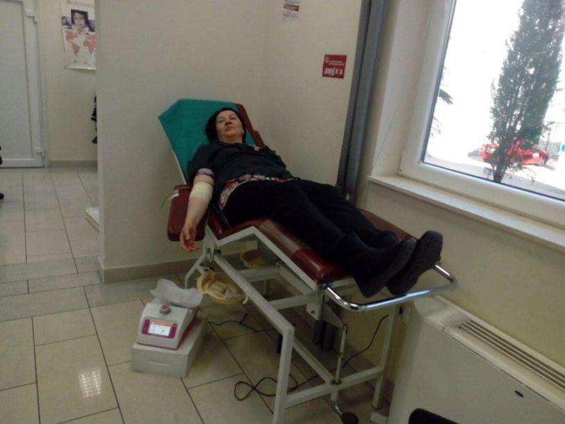 TEČNOST KOJA ŽIVOT ZNAČI Darovana 21 doza krvi Službi za transfuzijsku medicinu u Trebinju