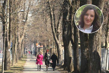 MOJA BANJALUKA Jelena Grahovac: Gradu trebaju nove aleje