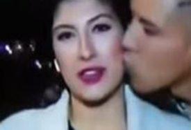 OSUĐEN ZA SEKSUALNI NAPAD Poljubio novinarku u obraz dok je izvještavala (VIDEO)