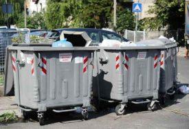 BOLJI USLOVI ZA ODLAGANJE SMEĆA U gradu raspoređuju 314 novih kontejnera