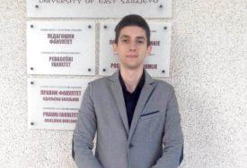 ON SAMO ZA DESETKE ZNA Brano je najbolji student u istoriji Pravnog fakulteta