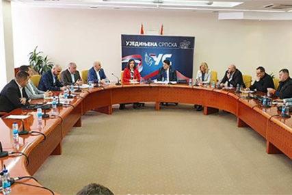 """""""BiH NIJE U MAP"""" Održana sjednica Predsjedništva Ujedinjene Srpske"""