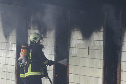 Požar kod Novog Grada: Izgorjele bale sijena