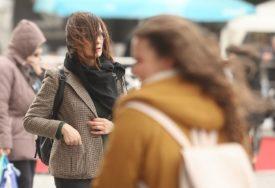 Naveče pljuskovi: Oblačan i vjetrovit dan
