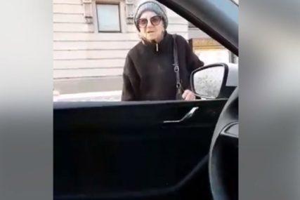 Penzionerka prekršila ZABRANU KRETANJA, kada je zaustavila policija OVAKO JE REAGOVALA (VIDEO)