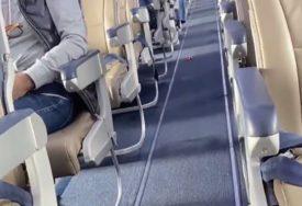 ŠOK NA PISTI Policija izvukla iz aviona putnika koji je bio pozitivan na korona virus