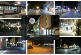 GRAĐANI DISCIPLINOVANI Pustim ulicama u Banjaluci prođe tek poneki prolaznik (FOTO)