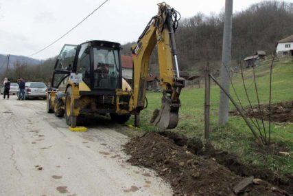 UDARNIČKI PRVI DAN Počela izgradnja vodovoda za Slapašnicu