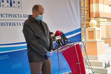 NEMA NOVOZARAŽENIH U BRČKOM Rigorozne mjere ulaska u glavnu bolničku zgradu i Dom zdravlja