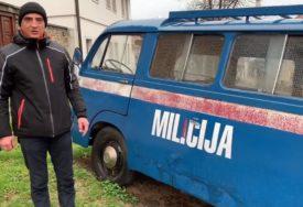 PRIČA JEDNOG OLDTAJMERA Kombi kojeg je koristila jugoslovenska milicija iz 1972. godine