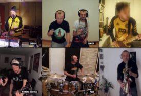 KARANTIN ŠOU Momci iz Dubioze kolektiva i večeras održali onlajn koncert i sve zabavili (VIDEO)