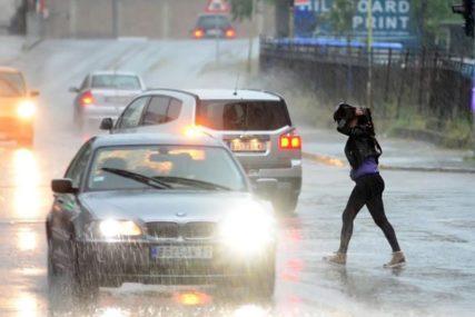 KIŠA I VODOSTAJI U PORASTU Hidrometeorološki zavod izdao upozorenje zbog padavina