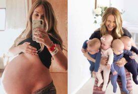Čudo nakon nekoliko pobačaja: Ona je imala samo 52 kilograma i rodila je četvorke (FOTO)