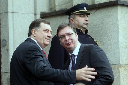 SUSRET SRPSKIH LIDERA Milorad Dodik sutra na sastanku sa Aleksandrom Vučićem