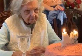 BAKA POSTALA HIT Iznenadili su je za rođendan, a njen odgovor je NASMIJAO MILIONE (VIDEO)