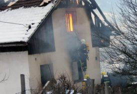 POŽAR U PALAMA Vatra guta porodičnu kuću, vatrogasci na terenu (VIDEO)