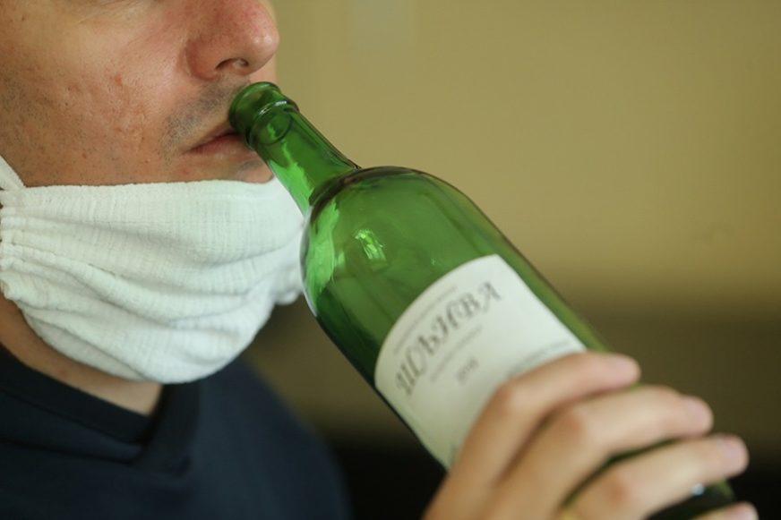 MRTAV PIJAN ZA VOLANOM Mrkonjićanin vozio sa 2,34 promila alkohola