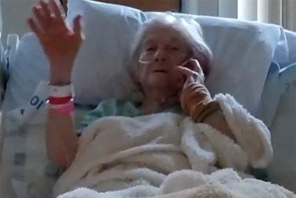 POSTALA SIMBOL NADE Baka od 90 godina se izliječila od korona virusa (VIDEO)