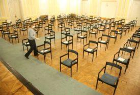STOLICE NA BEZBJEDNOJ UDALJENOSTI Počele pripreme za sjednicu NSRS u Banskom dvoru (FOTO)