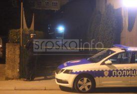 EKSPLOZIJA U BANJALUCI Policija na terenu, provjerava šta se tačno desilo (FOTO)