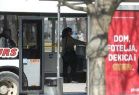 MJERA PREVENCIJE U Banjaluci krenuo KORIDORSKI PREVOZ, u autobusima tek po NEKOLIKO PUTNIKA