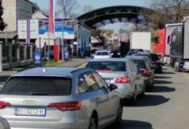 Pojačana frekvencija vozila: I dalje gužve na prelazima ka Hrvatskoj