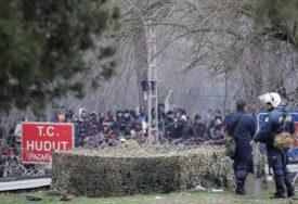 TENZIJE IZMEĐU TURSKE I GRČKE Za 24 sata granicu pokušalo da pređe 10.000 migranata