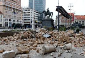 TLO NE MIRUJE Zagreb se ponovo tresao, ali još uvijek nije poznata JAČINA zemljotresa (FOTO)