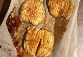 ODLIČNA KOMBINACIJA Pečene jabuke sa medom, orasima i cimetom