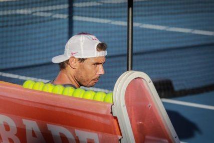 BITNO MU JE SAMO DA SE POBIJEDI KORONA Rafaela Nadala tenis trenutno uopšte ne interesuje